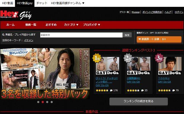 Hey動画gay