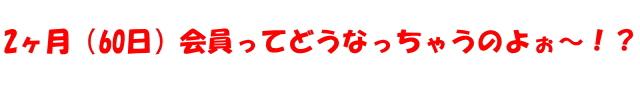 アダルト(無修正)動画サイトから2ヶ月(60日)会員プランは消滅!?