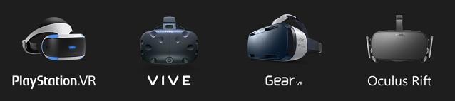 VR高級デバイス